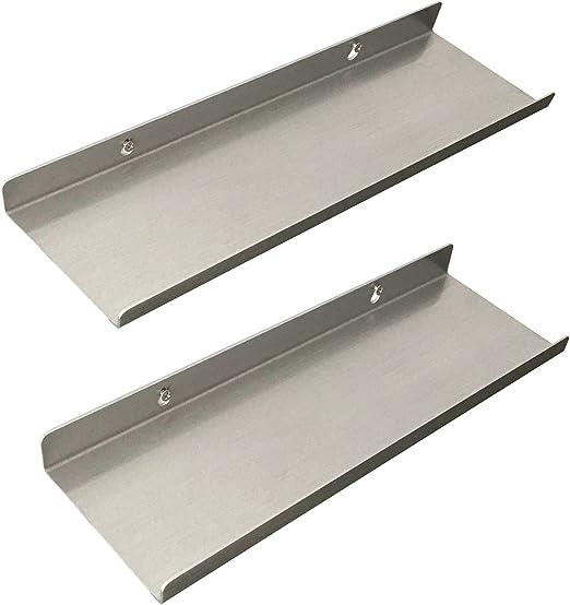 "7.5/"" Raw steel shelf bracket PAIR hardware included"