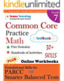 Common Core Practice - Grade 7 Math: Workbooks to Prepare for the PARCC or Smarter Balanced Test: CCSS Aligned