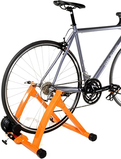 Conquer Front Wheel Riser Block and Skewer for Indoor Bike Trainer