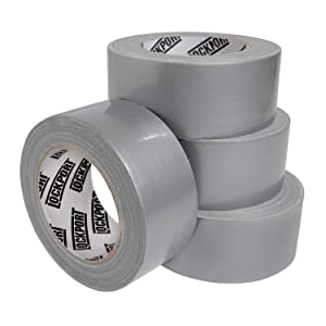 New: Lockport Silver Duct Tape - 4 Roll Multi Pack - 30 Yards x 2 Inches Per Roll - Multi Purpose Bulk Value Pack - Tear by Hand, Waterproof Utility Tape for Emergency Repairs and Home Use