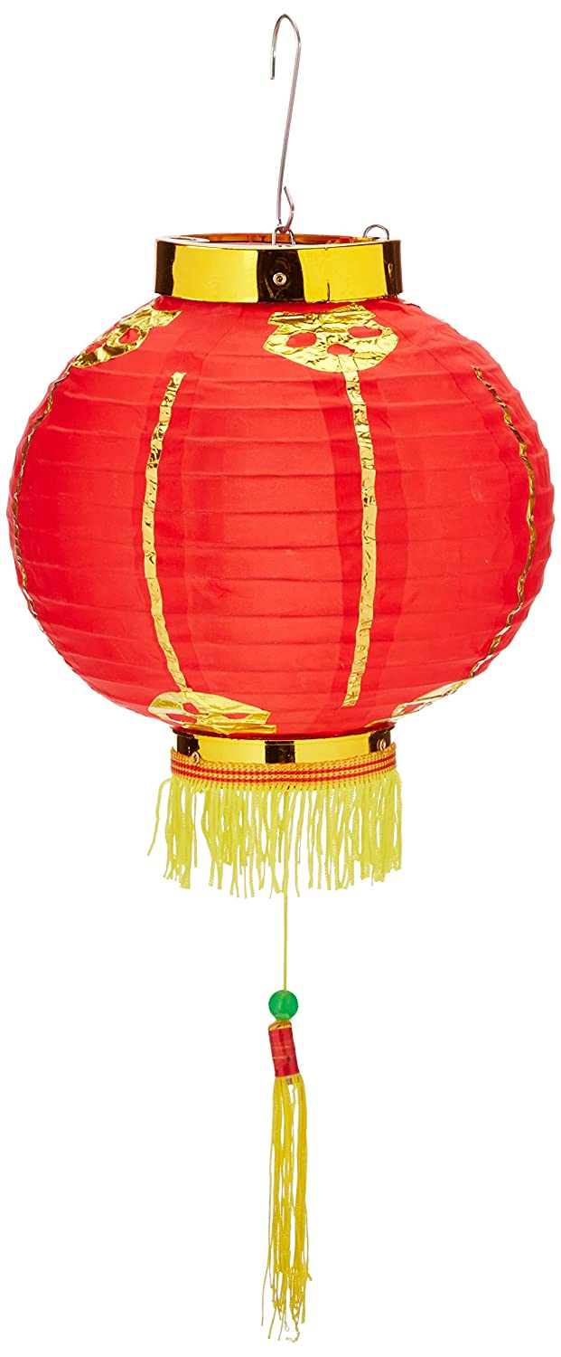 Beistle 50678-8 Good Luck Lantern with Tassel, 8-Inch