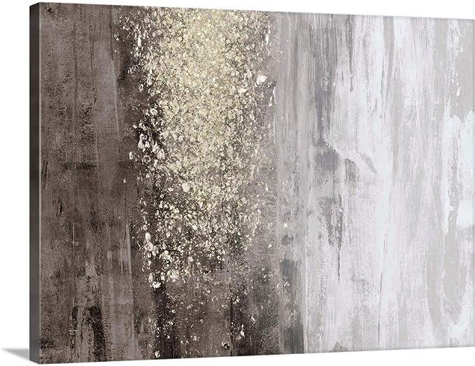 Greatbigcanvas Glitter Rain Ii Canvas Wall Art Print Home Decor Artwork 48 X36 X1 5 Posters Prints Amazon Com