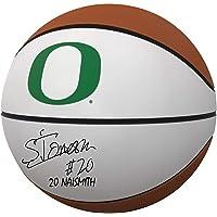 "$143 » Sabrina Ionescu Oregon Ducks Autographed White Panel Basketball with""20 Naismith"" Inscription - Autographed College Basketballs"
