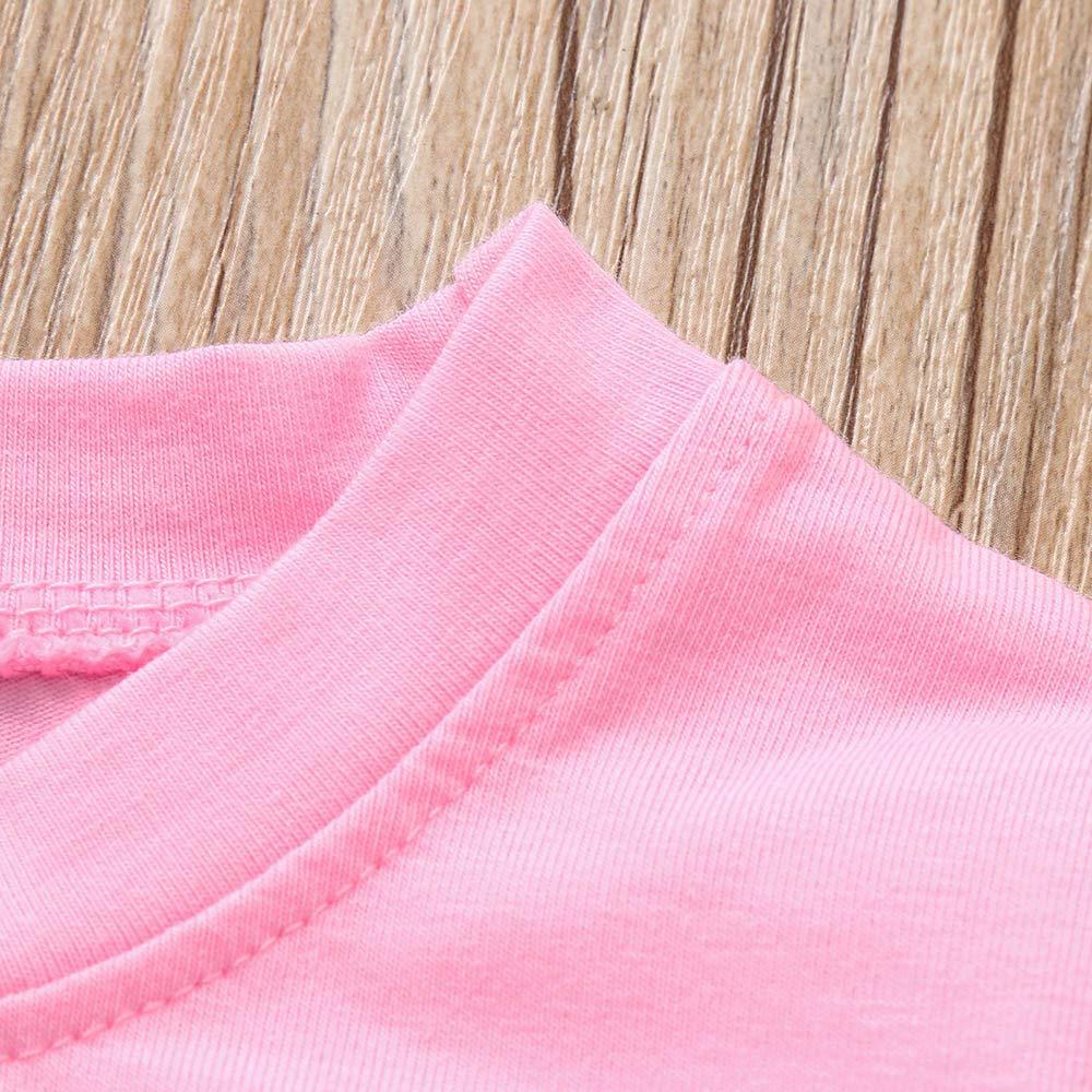 1-5T Toddler Kids Baby Dinosaur Pajamas Set Long Sleeve Tops T Shirt Blouse Pants Clothes Outfit Set