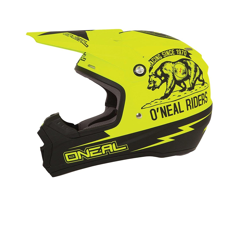 0618C-20 57-58 cm Gr/ö/ße Medium ONeal 5Series MX Helm California Neon Gelb Motocross Enduro Cross Motorrad Helm