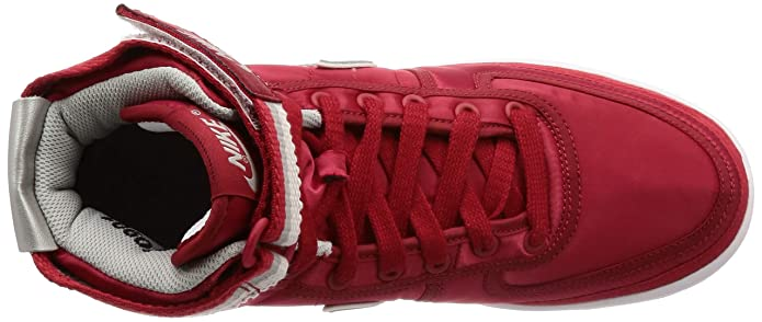 brand new f3eb6 19138 NIKE Homme Vandal Haut Université suprême QS Rouge Metallic Silver Chaussure  DE 10 US Université Rouge Metallic Silver 9 Royaume-Uni  Amazon.fr   Chaussures ...