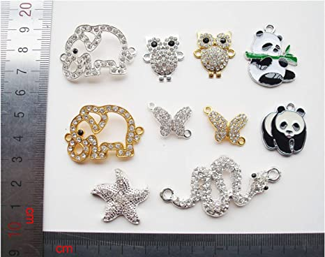 40//120pcs Tibetan Silver//Gold Butterfly Loose Spacer Beads Charm Jewelry Making