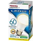 東芝 LED電球 一般電球形 810lm(電球色相当)TOSHIBA LDA7L-H/60W
