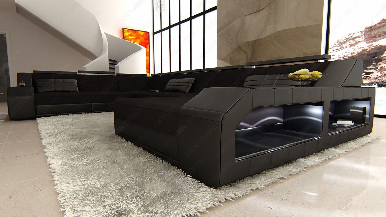 Erstaunlich Xxl Couch Ideen Von Fabric Sofa Mega Interior Design Matera U-shaped