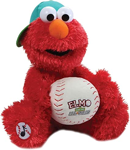 2019 Cartoon X Sesame Street Elmo Plush Toy Stuffed Animal Doll 13/'/' Figure