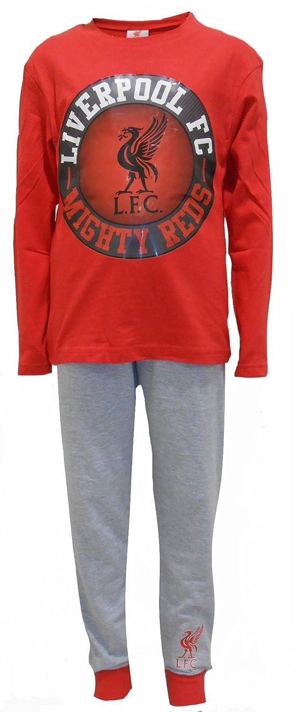 Liverpool Football Club Mighty Reds Boys Pyjamas 4-12 Years