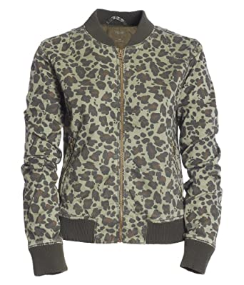 Amazon.com: Aeropostale Women&39s Leopard Bomber Jacket: Clothing