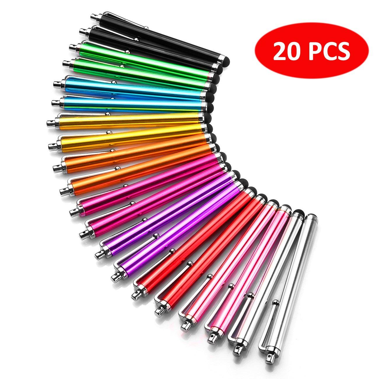 20 lapices stylus para tablets y celulares, universal