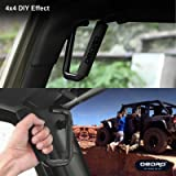 oEdRo Front Grab Handles fit for Jeep Wrangler JK