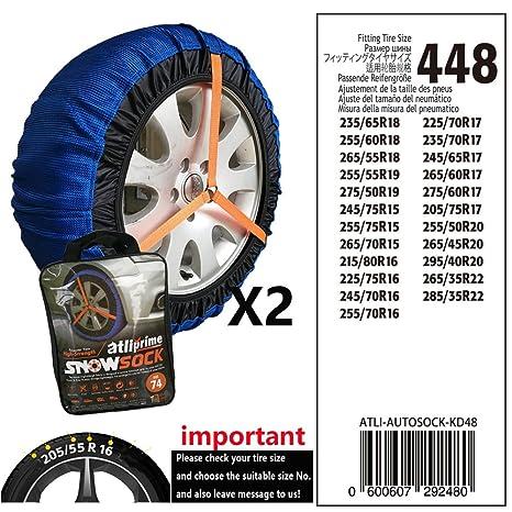 Atliprime Fabric Snow Chain Textile Tire Chains Auto Snow Sock Suv