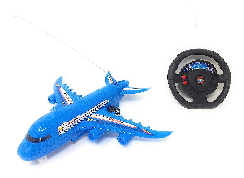 Blossom Aerobus Radio Control/ Remote Control Aeroplane Toy/ 27Mhz  Aeroplane Toy for Kids/ Airplane Toys Electric Airplane for Kids Toy DIY  Aircraft