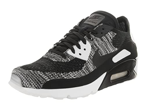 Nike AIR MAX 90 Ultra 2.0 Flyknit Black White Oreo Mens Running 875943 001