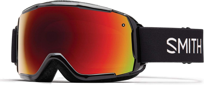 Smith Optics M00666_M Gafas de Esquí, Unisex niños, Negro, M