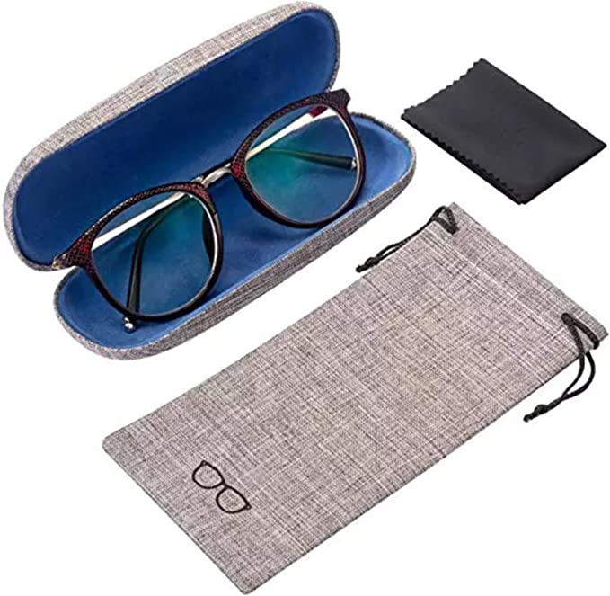 ALTEC VISION Microfiber Pouch Soft Sunglasses Case Eyeglass Cleaning Cloth