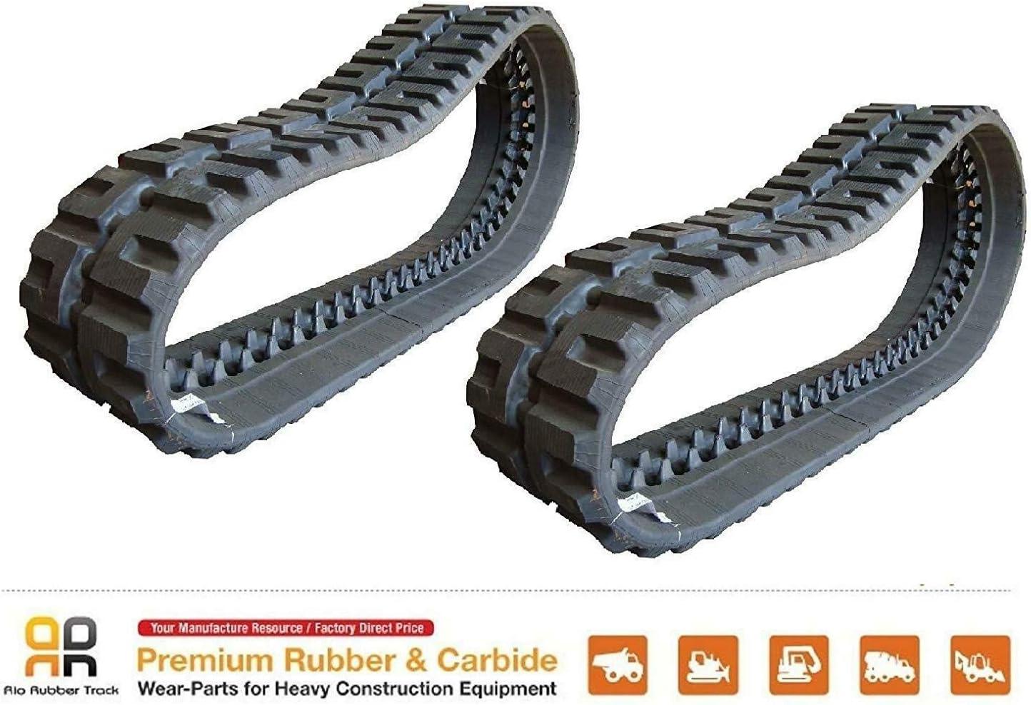 12.6 wide Rubber Track 320x86x53 CAT 259B 259D skids steer 2 pc