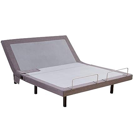 Adjustable Bed Base >> Amazon Com Hofish 2s Wired Mesh Layer Adjustable Bed Base One