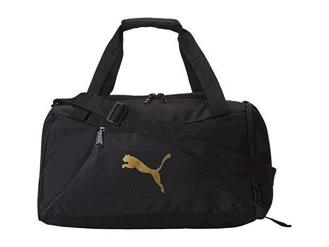 Amazon.com | PUMA Unisex Transition Duffel Black One Size ...