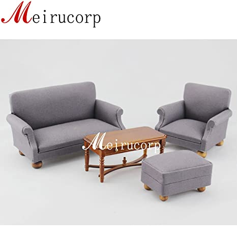 Pleasing Meirucorp Fine 1 12 Scale Dollhouse Miniature Furniture Living Room Set Sofa Table Download Free Architecture Designs Scobabritishbridgeorg