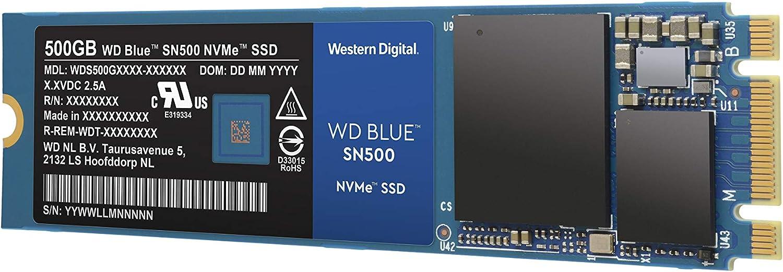 Western Digital WD Blue SN500 SSD NVMe, M.2, Velocidad de Lectura ...