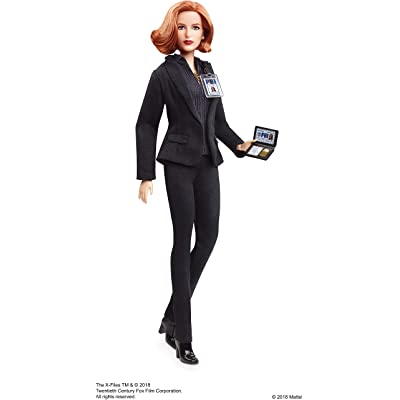 Barbie the X Files Agent Dana Scully Doll: Toys & Games