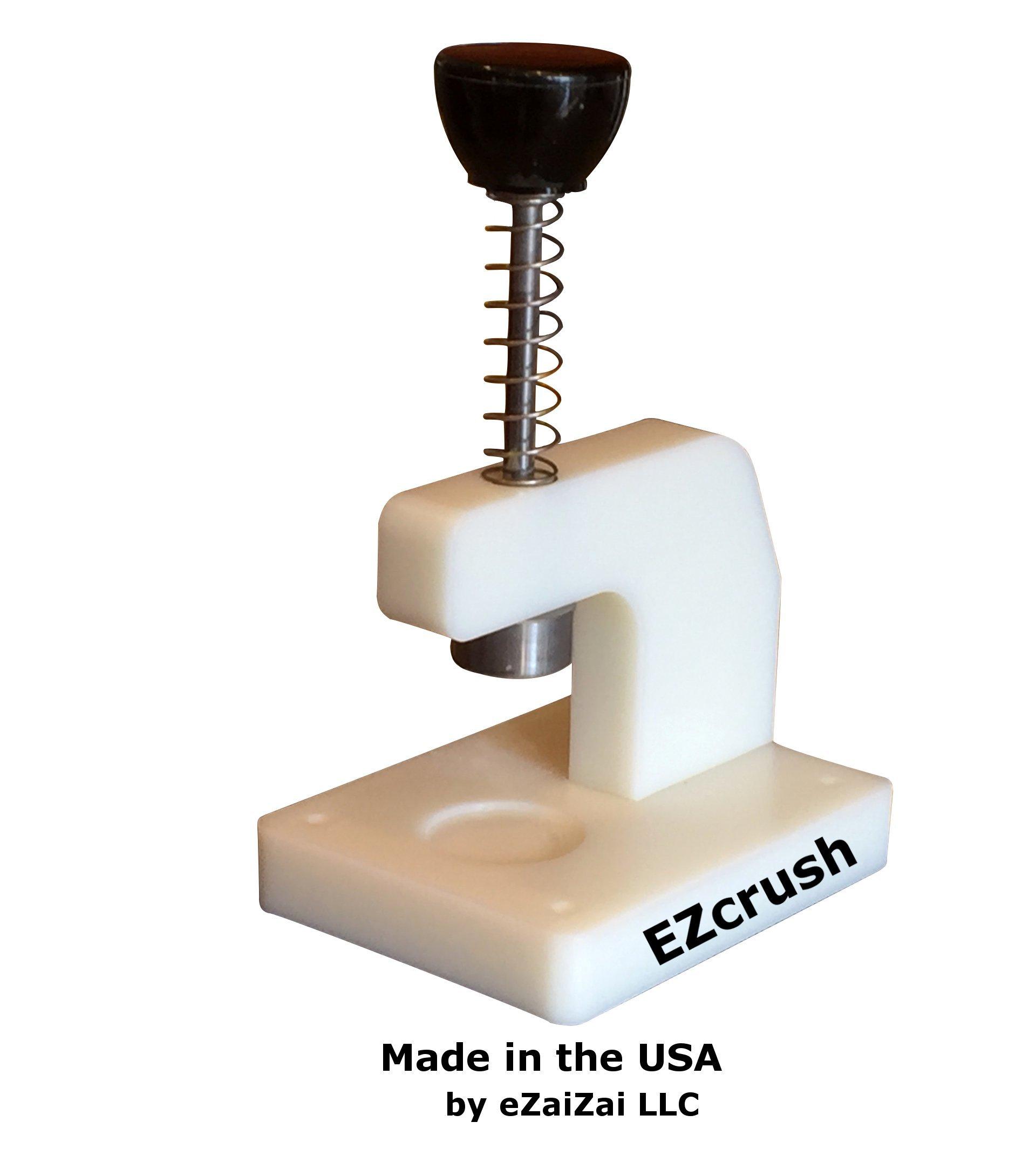 eZaiZai EZcrush pill crusher - white