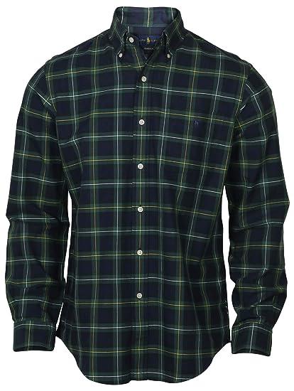 280c7e1e Polo Ralph Lauren Men's Lightweight Classic Fit Flannel Shirt Long Sleeve  Plaid Shirts