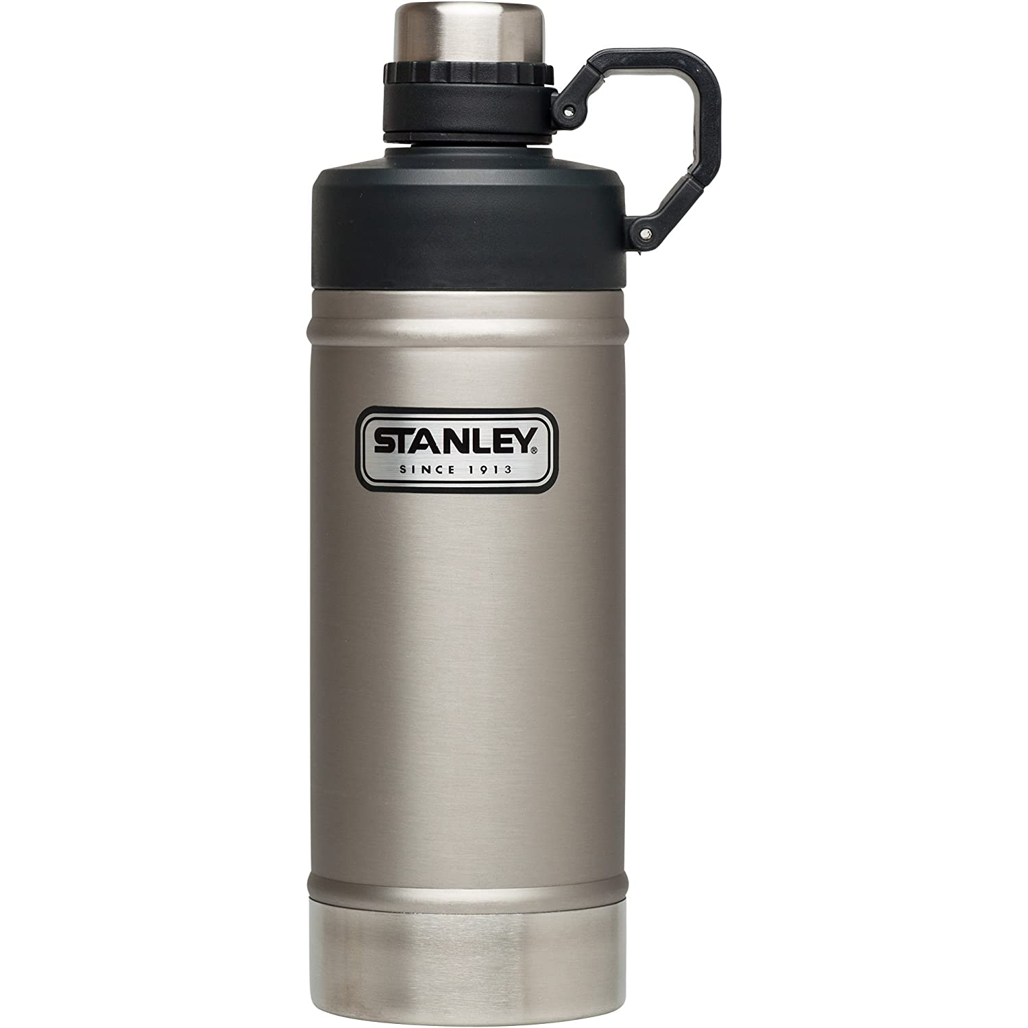 Stanley Classic Vacuum Water Bottle Stainless Steel 18 Oz