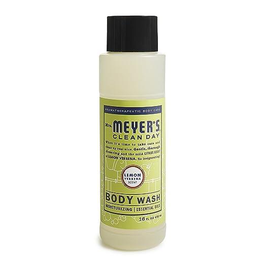 Mrs. Meyer's Body Wash,16 fl oz (Pack 3, Lemon Verbena