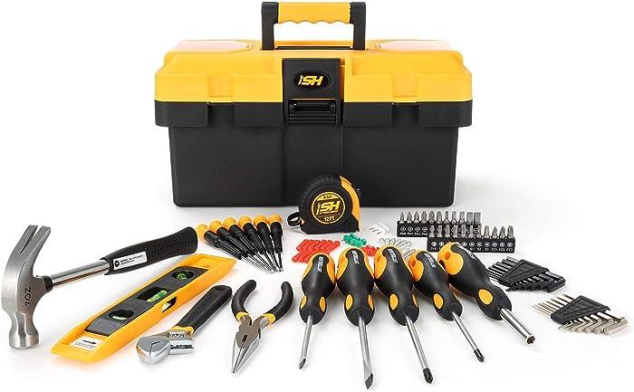 87-Piece Tool Set with Tool Box