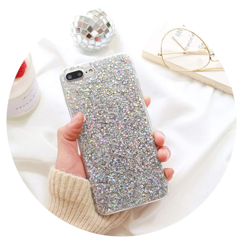 Amazon com: Phone Case for Luxury Gold Foil Glitter Phone