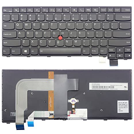 Amazon com: New US Backlit Keyboard for Lenovo Thinkpad