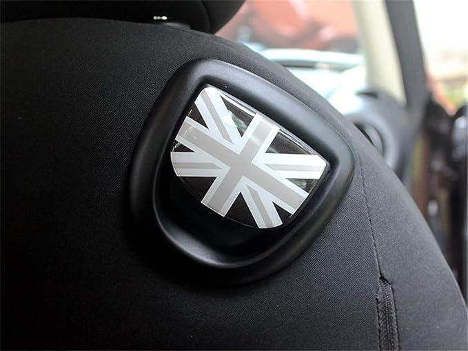 HDX 2 Protectores de Vinilo para Manilla de Asiento de Mini Cooper R56 Hatchback R57 Covertible R58 Coupe R59 Roadster R60 Countryman R61 Paceman.