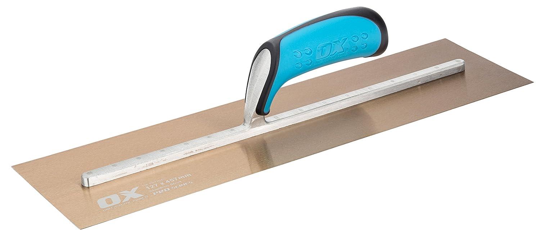 DEL PRO ACERO INOXIDABLE ESCAYOLISTAS TROWEL - 127 x 457 mm - P011018 OX Tools OX-P011018