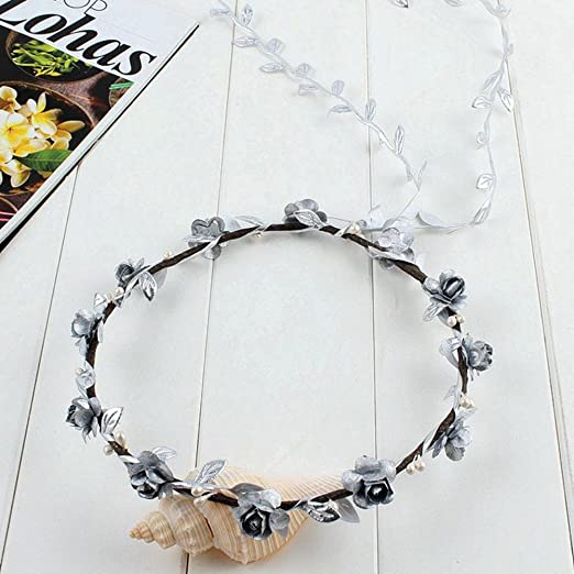 Festival Wedding Wreath Garland Crown Flower Headpiece Photography Tool For Adults And Children Girl's Hair Accessories