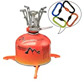 Bisgear Camping Cookware Stove Set, Hiking