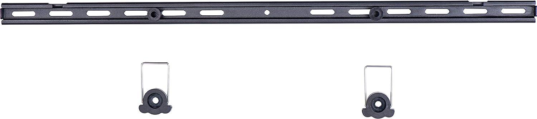 Home sistema 660501/gu/ía vertical de doble ranura para sistema de baldas de estanter/ía color negro