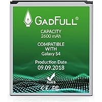 GadFull Batería de reemplazo para Samsung Galaxy S4 | 2018 Fecha de producción | Corresponde al Original EB-B600BE | Compatible con Galaxy S4 i9500 | LTE i9505 batería de Repuesto