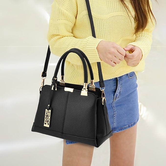 2019 Hot JJLIKER Women Fashion Leather Handbags Large Capacity Waterproof Totes Zipper Crossbody Pack Daily Work Bag