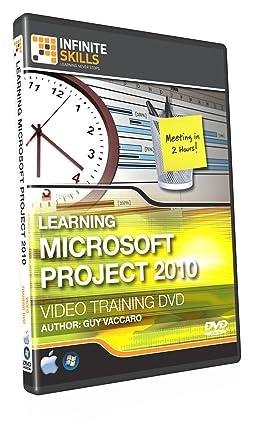 Microsoft Project 2010 Training DVD - Tutorial Video: Amazon