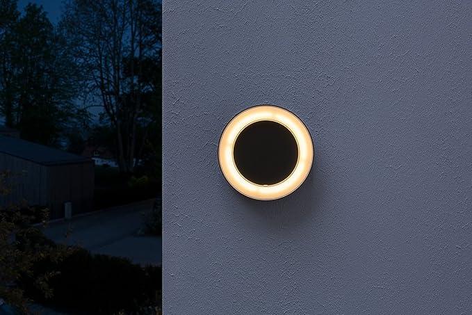 Osram Endura Style Ring Luminaria LED de Exterior, 13 W, Blanco, 20.2 x 20.2 x 4.5 cm
