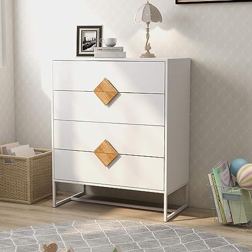 4 Drawer Dresser CQYS HOUSEWARE Chest of Drawer