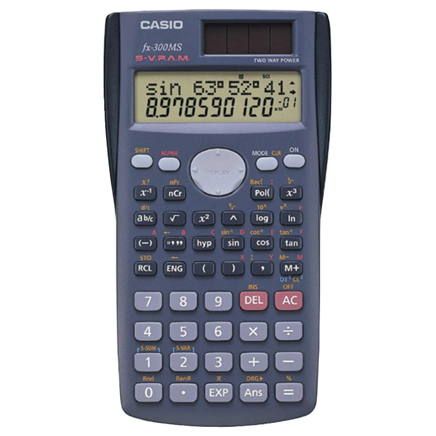 Casio(R) fx-300MS Plus Scientific Calculator