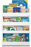 Tidy Books Estantería Libros - Azul Celeste-Letras Minúsculas