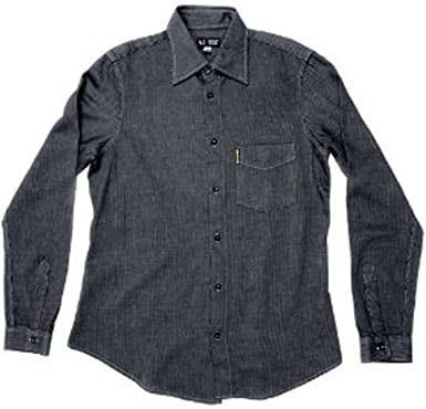 Armani Jeans - Camisa casual - Manga Larga - para hombre Azul azul marino medium: Amazon.es: Ropa y accesorios