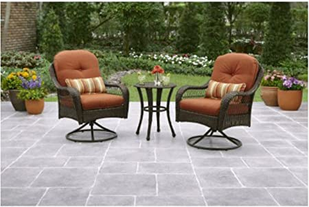 3 piece outdoor furniture set better homes and gardens azalea ridge 3 piece outdoor bistro set seats 2